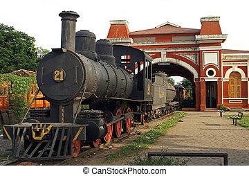 Railway Station, Granada, Nicaragua - Old Railway Station...