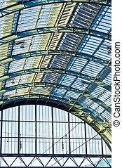 Railway station roof