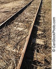 Railway. - Abandoned railroad tracks.