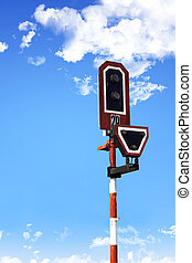 railway stop light