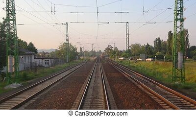 Railway - Train journey