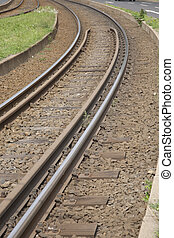Railway Tram Tracks