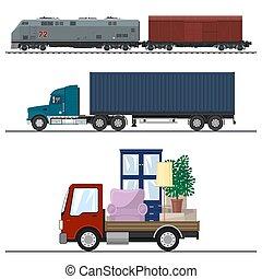Railway Transportation and Trucking