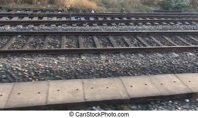 railway travel background