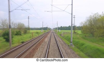 Railway travel point of view