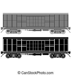 Railway wagon-1
