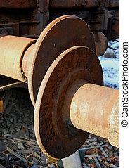 Railway wagon buffers