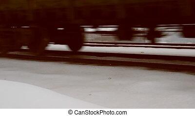Railways. Locomotives, wagons.