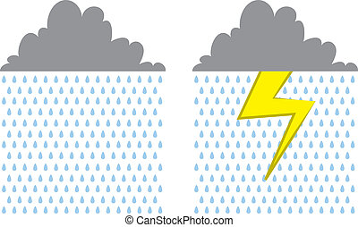 Rain Cloud Lightning