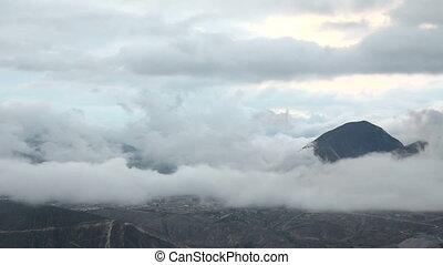 Rain cloud time lapse