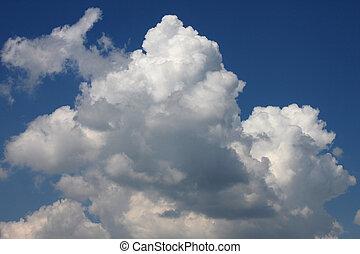 clouds in a sky