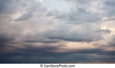 rain clouds, timelapse rain clouds timelapse