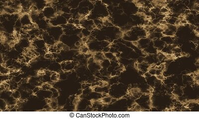 rain drop on water sepia break out glow mineral texture on dark marble moving background