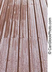 brown roof metal sheet