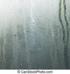 Rain in a window