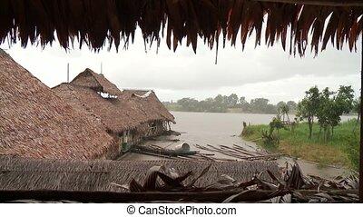 Rain in Amazon Area