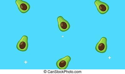 rain of avocados healthy food
