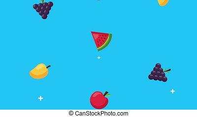 rain of fruits healthy food