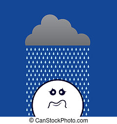Rain On Sad Face