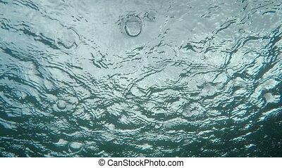 Rain on the Sea Surface.