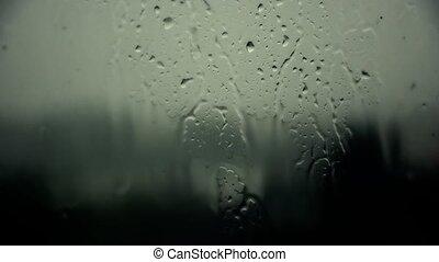 Rain outside, romance. Nature Heavy rain 23. - Rain outside,...