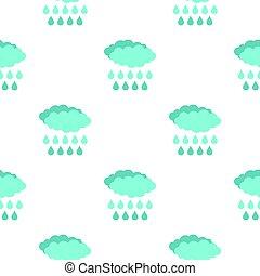 Rain pattern flat