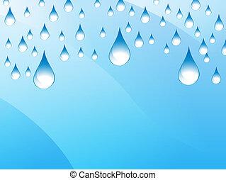 Rain Presentation Background