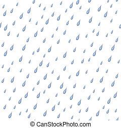 Rain, seamless background
