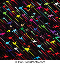 rain seamless background weather vector illustration