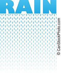 Rain Text