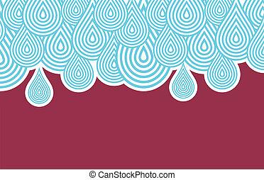 Rain texture background