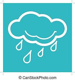 Rain Weather Icon