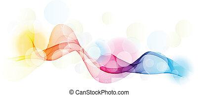 Rainbow abstract - Abstract rainbow coloured background