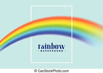rainbow background with text space