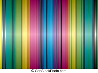 rainbow band background - Brightly coloured abstract...