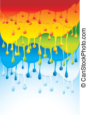 rainbow bright background