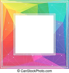 rainbow bright border