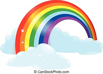 rainbow bridge clip art vector and illustration 356 rainbow bridge rh canstockphoto com