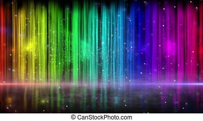 rainbow color stripes abstract loop - rainbow color stripes....