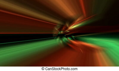 Rainbow Colored Aurora Borealis Like Effect Abstract Motion ...
