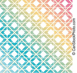 Rainbow colored seamless background