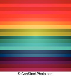 Rainbow colorful stripes abstract background. RGB EPS 10...