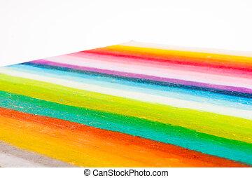 rainbow colors stripes