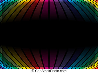 Rainbow colors vector template