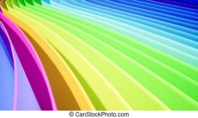 Rainbow curve for your intro