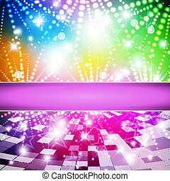 Intensive rainbow colors background - abstract vector