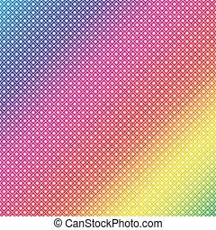 Rainbow Dots (Vector EPS)