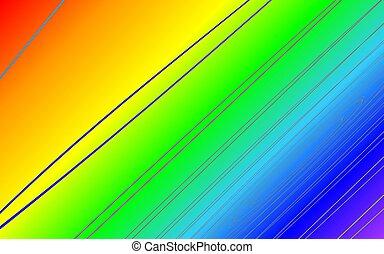 rainbow effect backround