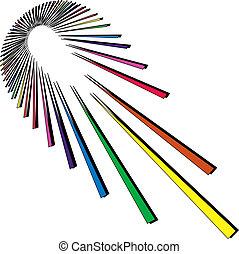 rainbow exploding spectrum
