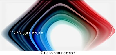 Rainbow fluid colors abstract background twisted liquid ...
